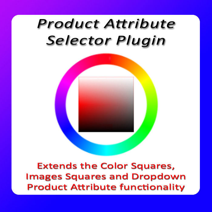 Product Attribute Selector Plugin